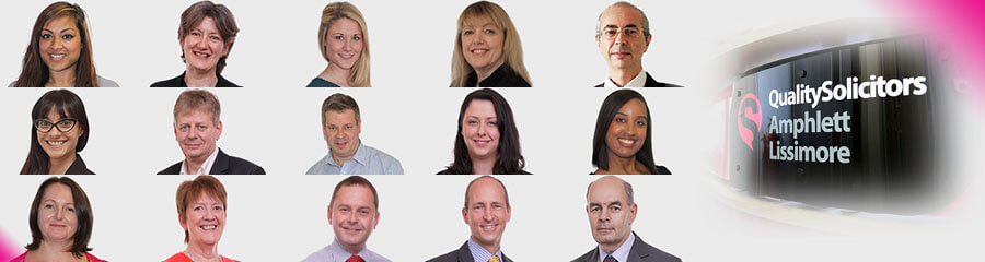 QualitySolicitors Amphlett Lissimore workers