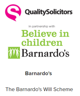 QualitySolicitors & Barnardo's - Shortlisted for Best Legacy or In-Memoriam award 2017