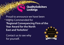 Lockings Conveyancing Award - September 2018